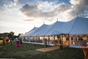 wedding marquee lighting