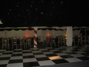 black and white dance floor hire east yorkshire