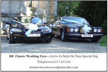 BB Classic Wedding Cars Wedding Suppliers