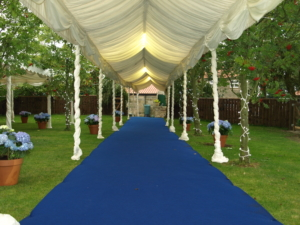Wedding Marquee Entrance Whitby