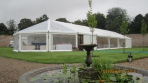 Clear Wedding Marquee Yorkshire