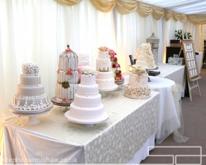 Jill Fisher Wedding Cakes