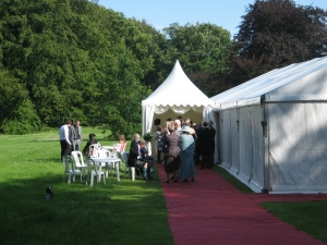 Tent hire Sledmere