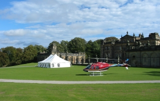 Marquee hire Duncombe Park