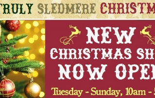 Sledmere House Christmas Shop