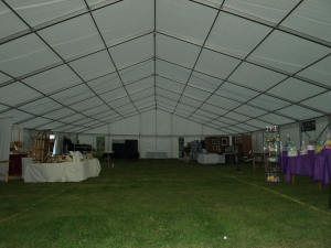Show marquee hire