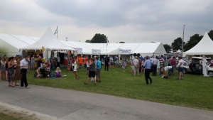 Tented Village at Driffield Show
