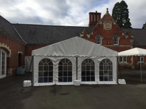 Temporary Building Marquee