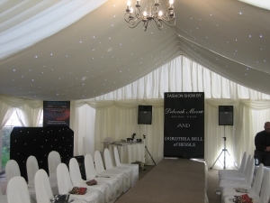 Fashion Show Marquee