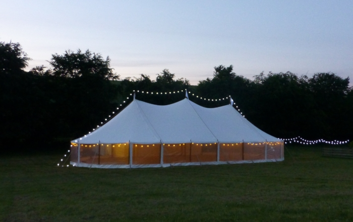 Celeste Traditional marquee York