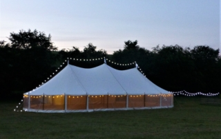 Vintage Pole Marquee