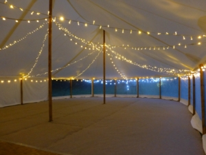 Marquee fairy lights