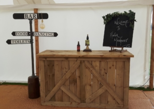 Vintage Marquee Bar Hire