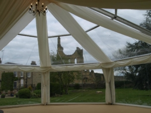 Clear Octagonal Wedding Marquee