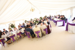 wedding marquee hire in selby