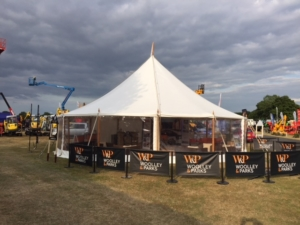 Woolley And Parks Event Marquee