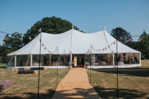 Celeste Marquee Sledmere House