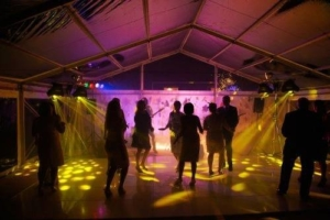 Clear Wedding Disco Marquee