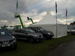 Pagoda Show Marquee