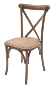 Chantilly Chair with Grey Seat Pad
