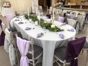 Oval Table Hire