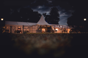 9m Frame Marquee for a wedding